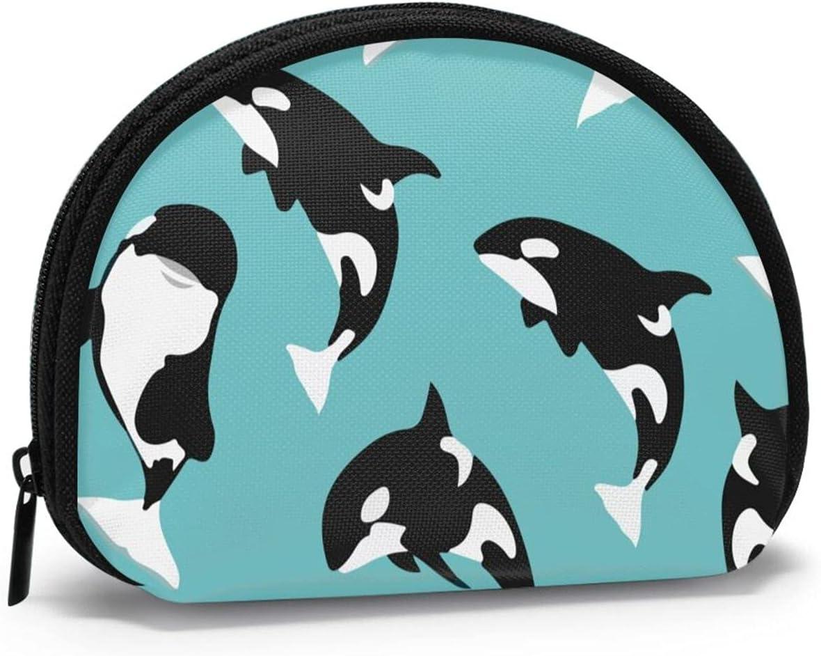 Women Change Coin store Purse Popular Killer Whale Ba Girl Shell Shark Storage
