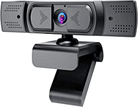 1080P Webcam with Microphone, Auto Focus and Privacy Cover, USB 2.1 Desktop Laptop Computer Web Camera Great for Zoom Meet...
