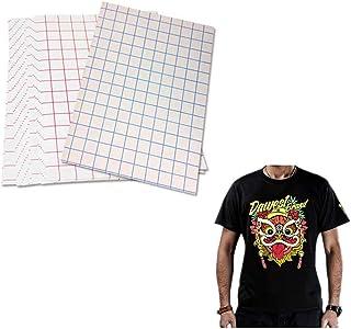 Láminas de papel de transferencia de calor, inyección de tinta, para camisetas oscuras, mate, tamaño 21,5 x 28 cm, 5 unidades
