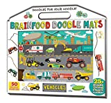 Brainfood Doodle Mats: Vehicles