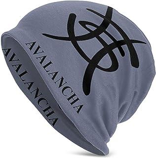 Yuanmeiju Adult Heroes del Silencio Logo Beanie Hat Gorra de Calavera de Punto Informal para Hombres y Mujeres, Color Negro