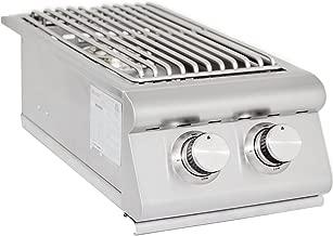 Blaze Grills Slide-in Gas Double Side Burner Gas Type: Natural