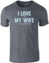 I Love (When) My Wife (Lets Me Mountain Bike) Short Sleeve T-Shirt