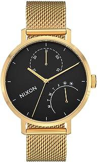 ساعة نيكسون A1166-513 كلاتش نسائية ذهبية 38 مم ستانلس ستيل