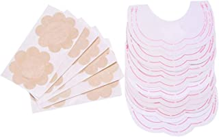 Uplifting Tapes Adhesive Instant Breast with Nipples Covers (6 Pairs) Beige