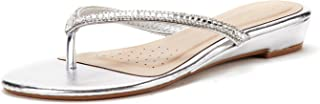 Best silver flip flops with rhinestones Reviews