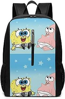 Laptop Backpack Spongebob-squarepants-baby-wallpaper-4 Large Computer Backpack School Travel Backpack Casual Daypack For Women/Men