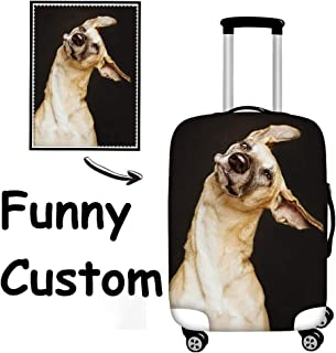 FOR U DESIGNS 18/20/22/24/26/28/30 Inch Personalized Flag Spandex Travel Luggager Covers