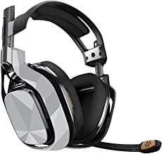 MightySkins Skin Compatible with Astro A40 Gaming Headset - Gray Polygon   Protective, Durable, and Unique Vinyl Decal wrap Cover   Easy to Apply, Remove, and Change Styles   Made in The USA