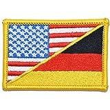 Germany/USA Flag -...image