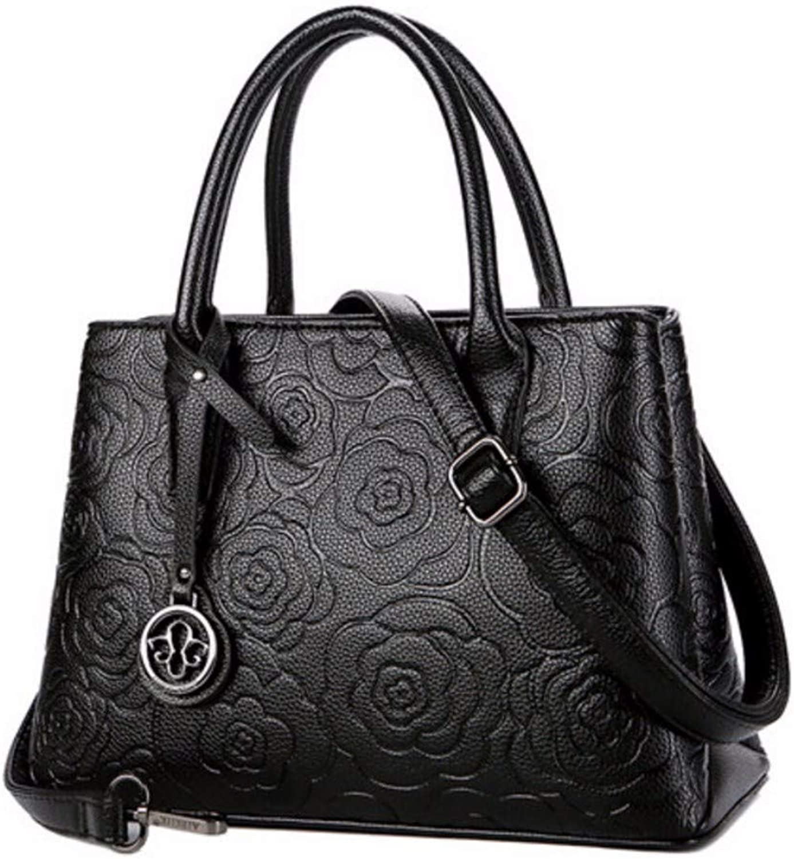 JQSM Embossed Leather Bag for Women 2019 Luxury Handbag Women Bag Designer Crossbody Bags Ladies Hand Bags