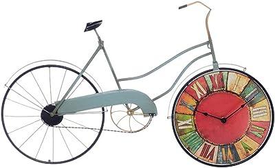 DGF Reloj de Pared Retro Personalizado de la Bicicleta del Hierro ...