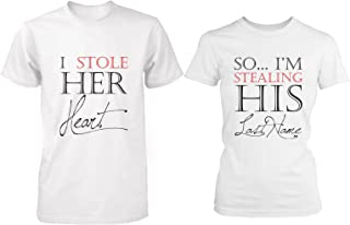 engagement t shirts for couples