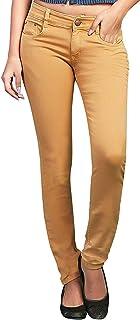 ADBUCKS Womens Slim Fit Dark Wash High Fashion Jeans