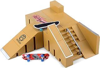 Skate Park Kit, Hometall 5PCS Skate Park Kit Ramp Parts for Finger Skateboard Ultimate..