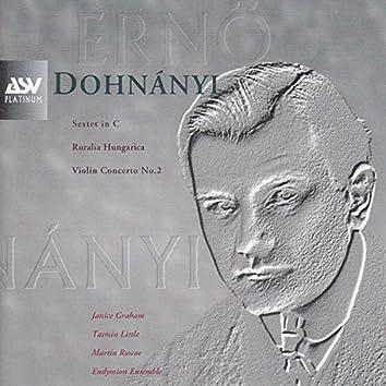 Dohnanyi: Violin Concerto No.2, Ruralia Hungarica, Sextet