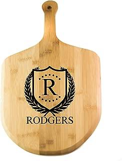 Personalized Pizza Paddle   Bamboo Wood Paddle Board - ShieldStar Design