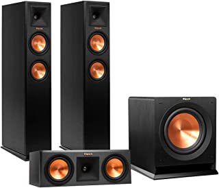 Klipsch RP-250F Reference Premiere Floorstanding Speaker Package with RP-250C Center Channel Speaker and R110 10