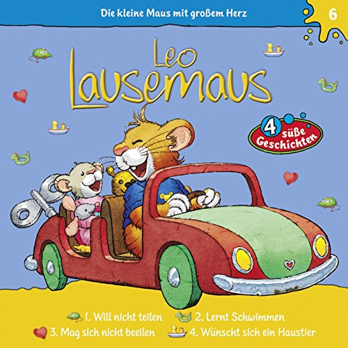 Folge 6: Leo Lausemaus lernt schwimmen - Teil 1