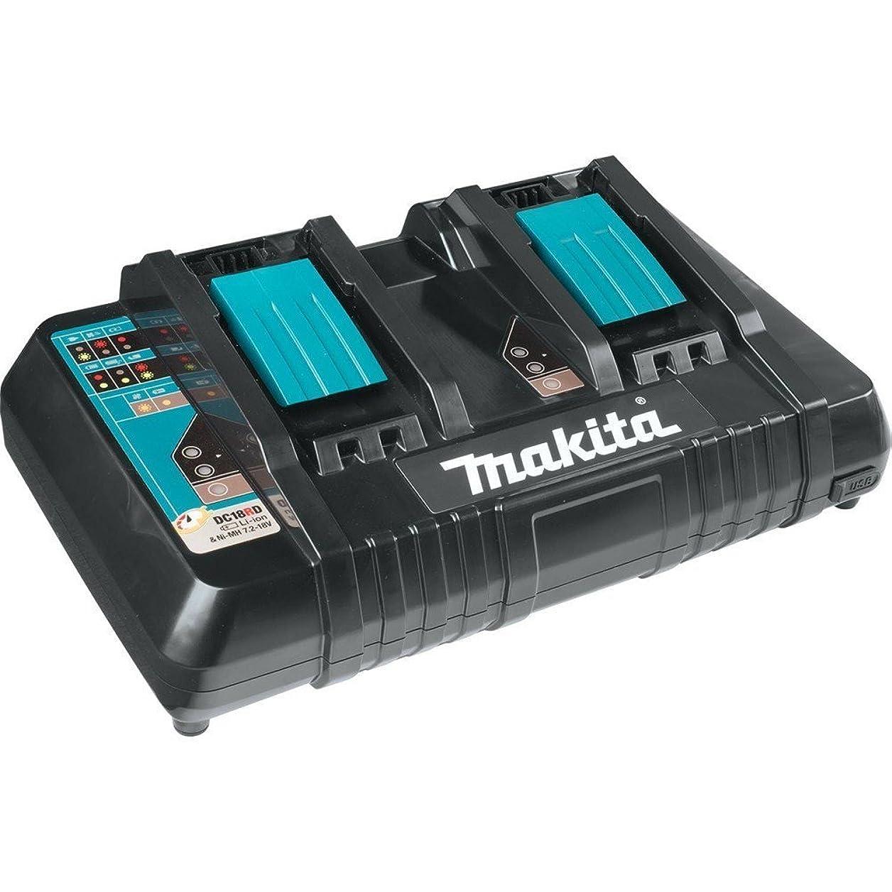 マキタ 2口急速充電器 DC18RD [並行輸入品]