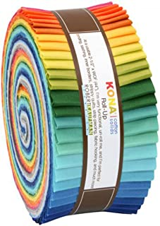 Roll-up fabric bundle roll Summer New Palette Robert Kaufman