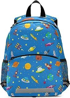 Space Backpack Rocket Back Pack Rocketship Bookbag Space Ship Toddler Book Bags Boys