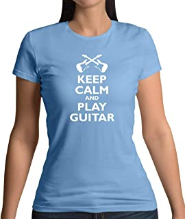 Keep Calm and Play Guitar - Womens T-Shirt - 10 Colours