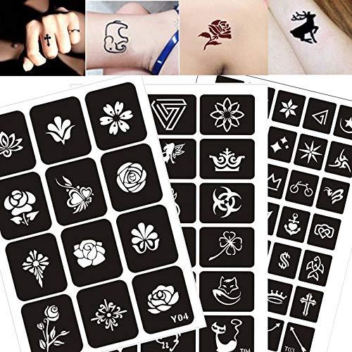 300 patrones arte tatuaje pegatinas plantillas body art pintura tatuaje plantillas dibujo plantillas pegatinas libros