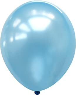 """Neo LOONS® 5"""" Pearl Light Blue Premium Latex Balloons - Great for Kids, Adult Birthdays, Weddings, Receptions, Baby Shower..."""