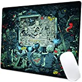 Game Character 017 Mouse Pad Non-Slip Rubber Base Justice League Mouse Pads Spuare Customized Mousepads for Computers Laptop Office