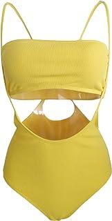 Jueshanzj Womens Bikini Set Cut Out Swimsuit Padded