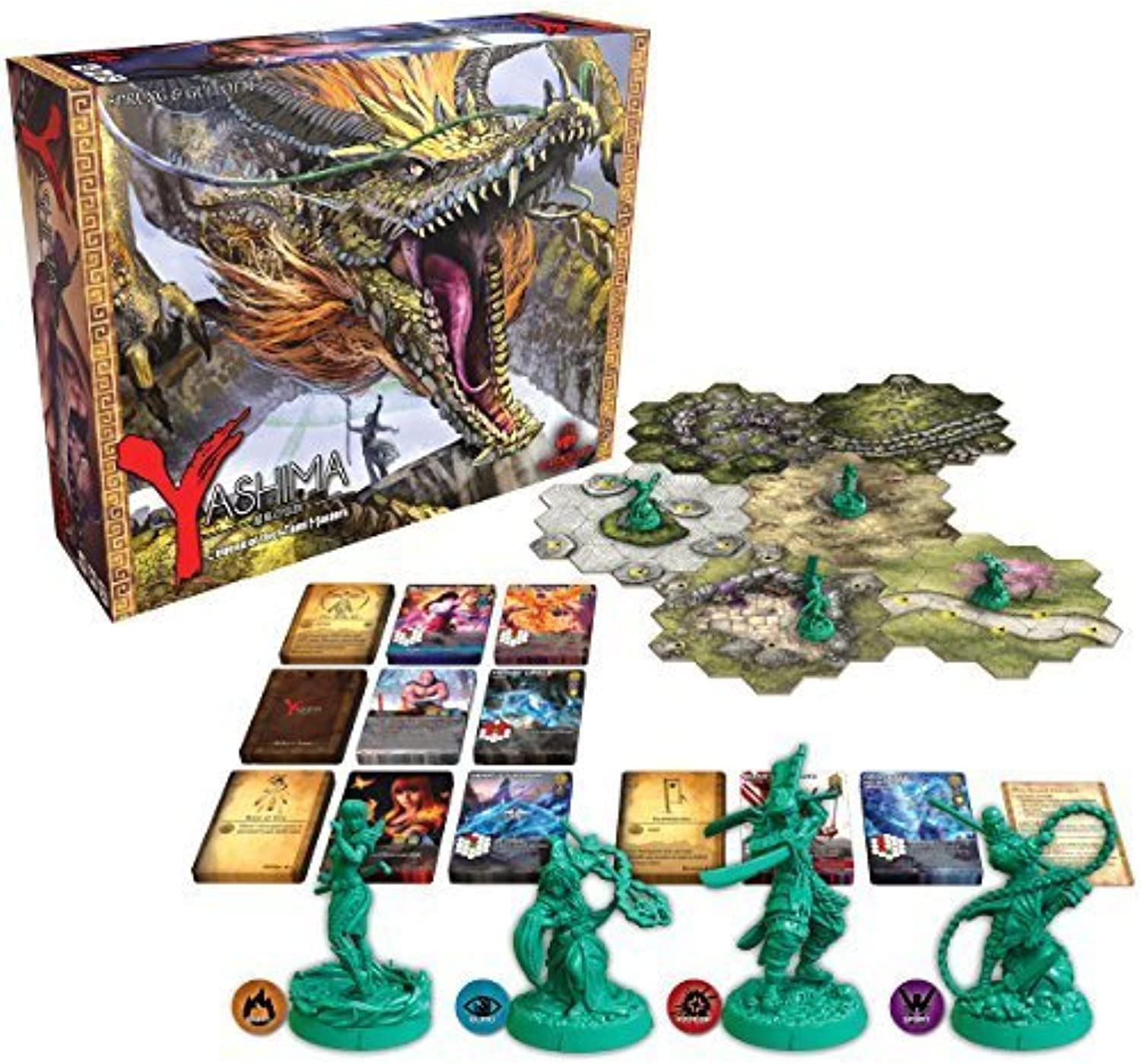 Yashima Legend of the Kami Masters Board Game by Publisher Services Inc (PSI)