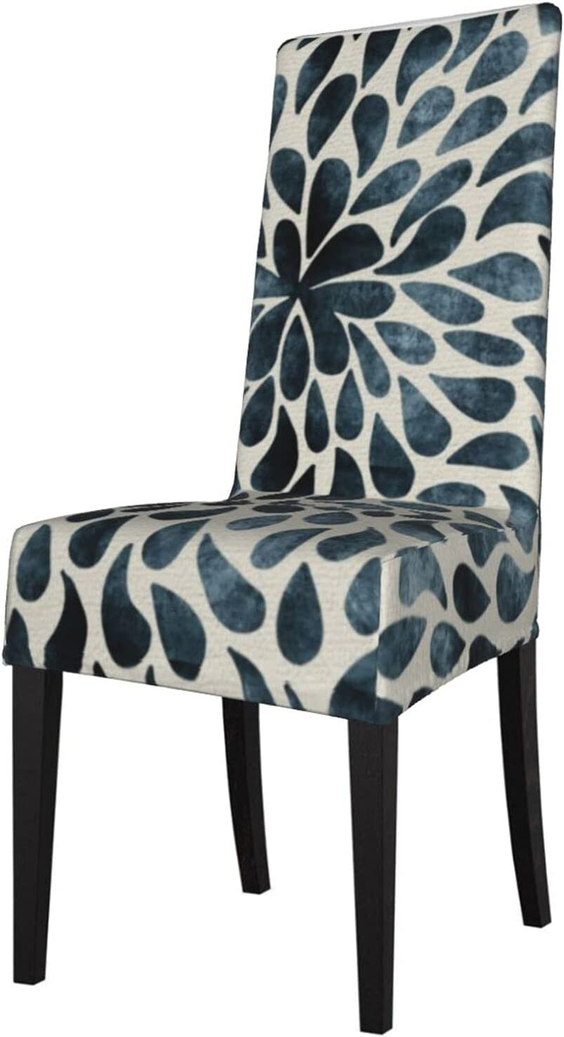 QUAVZI 2PCS Stretch Chair Limited Special Price Shipping included Covers for Smoky Dining Gray Blue Room