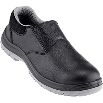 Neosafe A7021_8 Xplor, Low Ankle Black Executive Safety Shoes with Fibre Toe Size 8