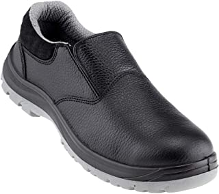 Neosafe A7021_8 Xplor, Low Ankle Black Executive Safety Shoes with Fibre Toe Size 8