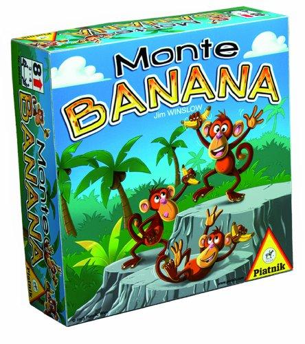 Piatnik- Jeu de Stratégie-Monte Banana, 6086