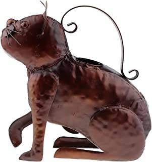 Homyl LOVELY WATERING CAN - High Quality Steel - Cute Cat Decor - 30 x 11 x 32cm