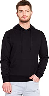 Funky Monkey Unisex Fleece Hoodie (Black, Large)