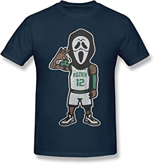Men's Short Sleeve T-Shirt Scary Terry Rozier Novel and Unique Design Navy