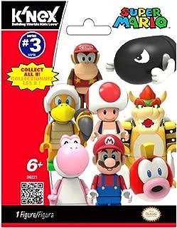 Super Mario K'NEX #38221 Series 3 Mini Figure Mystery Pack [1 RANDOM Figure]