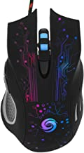 Gaming Mouse USB LED Gamer Mice 5500 DPI Professional Optical Wired 6 Buttons for PC Laptop