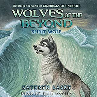 Spirit Wolf audiobook cover art