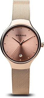 BERING Time 13326-366 Women Classic Collection Watch with Stainless-Steel Strap and Scratch Resistent Sapphire Crystal. Designed in Denmark