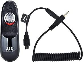 Wired Remote Shutter Cord JJC Shutter Release Cord Controller Cable for Fuji Fujifilm X-T20 X-T10 X-T2 X-T1 X-Pro2 X-A10 X-A5 X-A3 X-A2 X-A1 X-H1 X-E2S X-E2 X-M1 X100F X100T X30 X70 XQ1 XQ2 FinePix S1