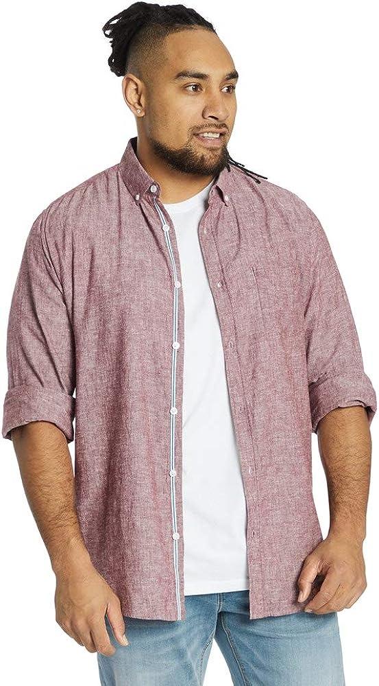 Johnny Bigg Big & Tall Serge Melange Linen Shirt