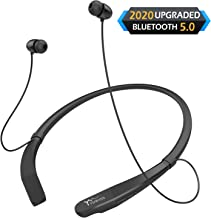 Yuwiss Bluetooth Headphones Neckband V5.0 Lightweight Wireless Headset Call Vibrate Alert..
