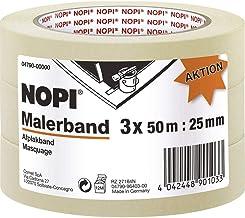 NOPI Promo voordeelpak schildercrêp, 3x 50 m:25 mm