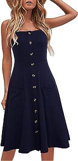 Berydress - Vestido de verano para mujer, estilo casual, de