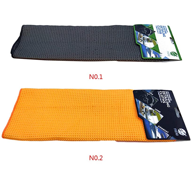 Idyandyans Microfibre Car Cleaning Cloths Waffle Polishing Wipe Auto Cleaning Absorbent Drying Towel