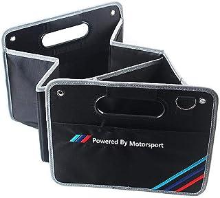 SWEKA 自動車用収納ブックス 折りたたみ式収納ボックス 黒 自動車用収納ブックス M sport x1x3x5x6 3シリーズ 5シリーズに適用